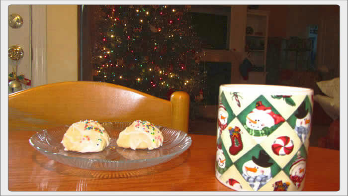 Anisette Cookies for Christmas