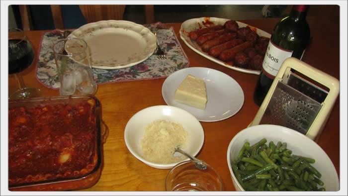 Easter lasagna