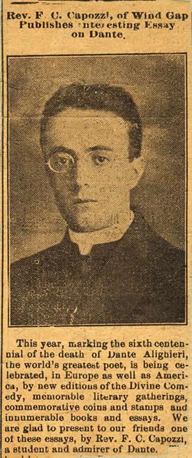 Francis C Capozzi