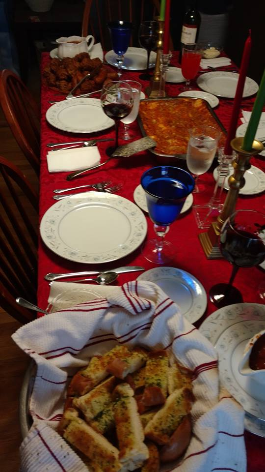 Christmas Eve Lasagna!