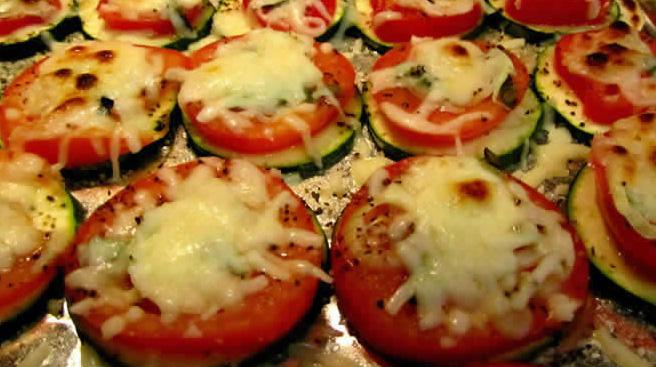 zucchini tomato appetizer