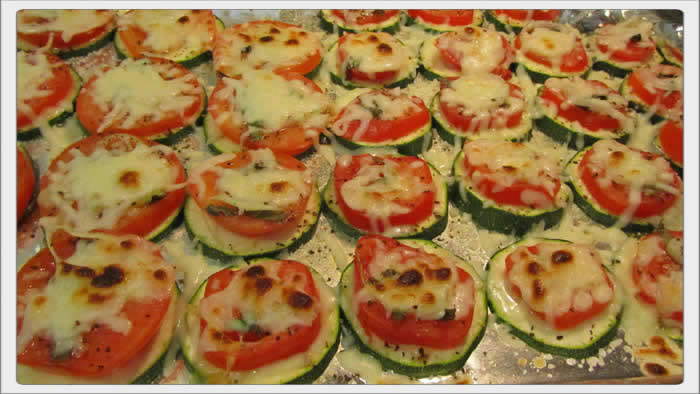 Zucchini and Tomato AppetizerAnthonys Italian Recipes