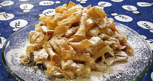 Italian bowtie cookies